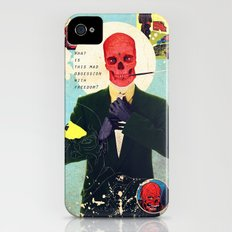 What Is This Mad Obsession With Freedom? Slim Case iPhone (4, 4s)
