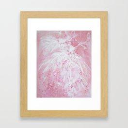Tutu Rose Delight Framed Art Print