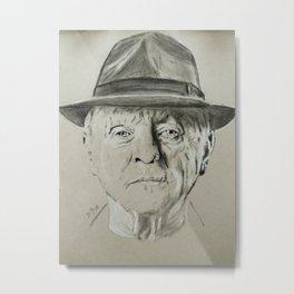 Anthony Hopkins Metal Print