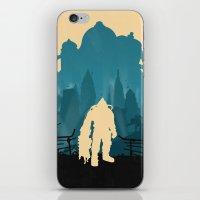 bioshock iPhone & iPod Skins featuring Bioshock 2 by Bill Pyle
