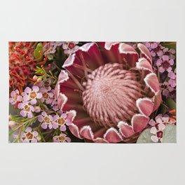 Macro Protea Rug