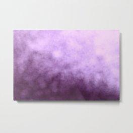 Beautiful Purple Glitter Sparkles Metal Print