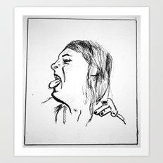 Cackle  Art Print