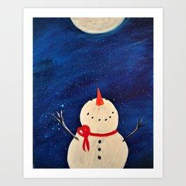 Whimsical Winter Art Print