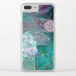 Altar of Ocean Flowers Clear iPhone Case