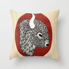 The Buffalo Throw Pillow