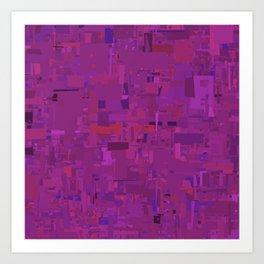 Series 9 - Lavender Art Print