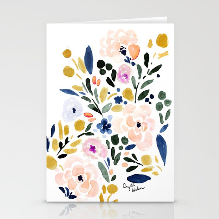 Sierra Floral Stationery Cards