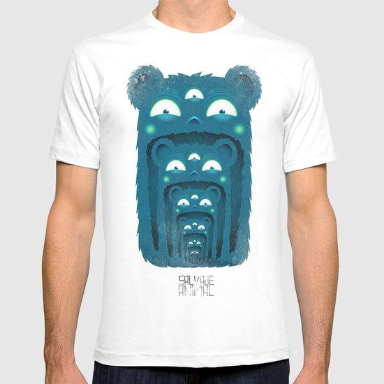 SALVAJEANIMAL BOCA T-shirt