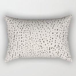 Silver Fawn Spots Rectangular Pillow