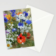 Wildflowers in a summer meadow Stationery Cards