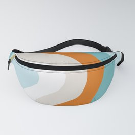 moab, teal & orange Fanny Pack