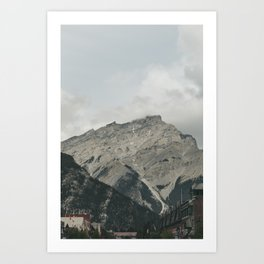 Downtown Banff Art Print