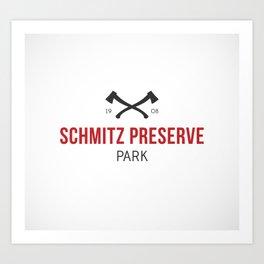 Schmitz Preserve Park Art Print
