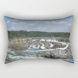 take a fall Rectangular Pillow