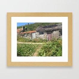 House on the Rocks Framed Art Print
