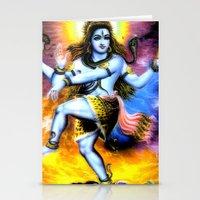 shiva Stationery Cards featuring Shiva by nuzzocozzamara
