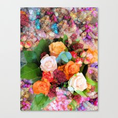 It's Been a Good Year for the Roses Canvas Print