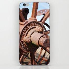 Wheel Hub iPhone Skin