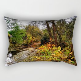river and garden Rectangular Pillow