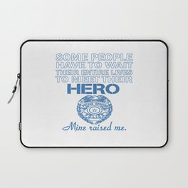 POLICE OFFICER'S DAUGHTER Laptop Sleeve