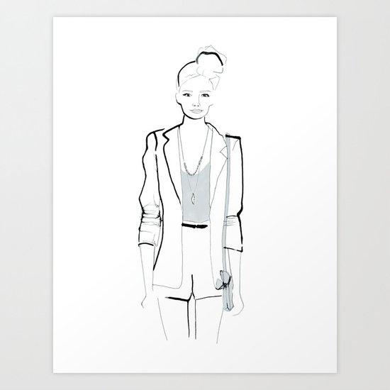 Naiomi Art Print
