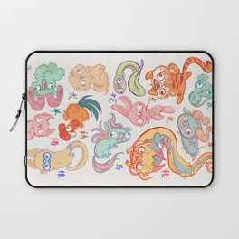 Chinese Animals of the Year Laptop Sleeve