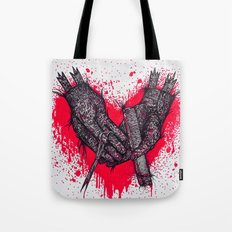just a little off the wrists zombie Tote Bag