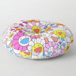 mukarami flowers Floor Pillow