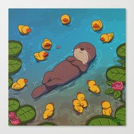 Otter Canvas Print