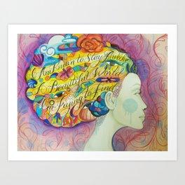 beautifulworld Art Print