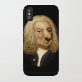 Bach, your best friend!  iPhone Case