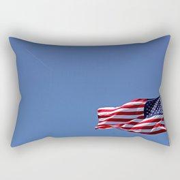 Clipside of the Pinkeye Flight  Rectangular Pillow