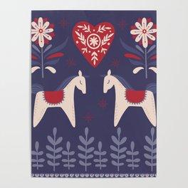 Swedish Christmas Poster