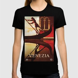Vintage Venezia Italia Travel T-shirt