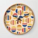 Mid Century Mod Half Circle Pattern by nlmiller07art