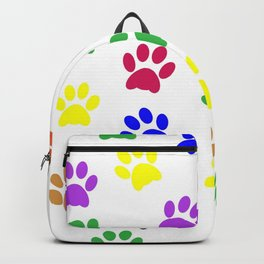 Paw print design Backpack