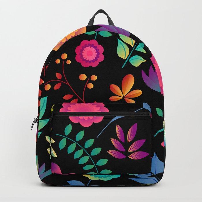 FLORAL PATTERN 4 Backpack