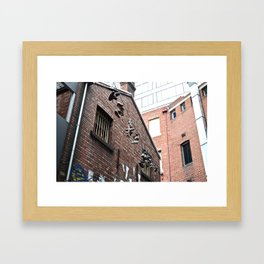 Betwixt Framed Art Print