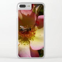 Beauty And Bee Clear iPhone Case