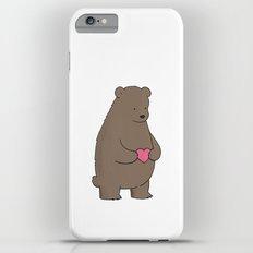 Bear & Heart  iPhone 6 Plus Slim Case