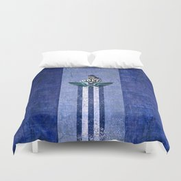 poloplayer blue Duvet Cover
