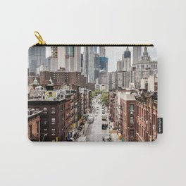 USA Photography - Chinatown In New York City Carry-All Pouch