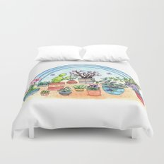 Household Plants Duvet Cover