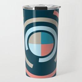 Colorful Circles V Travel Mug