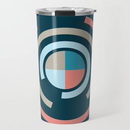 Colorful Circles V Travel Mug