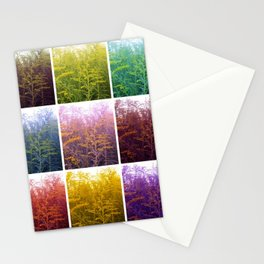 Goldenrod Collage Stationery Cards