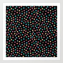 Light Bright Dot Art Print