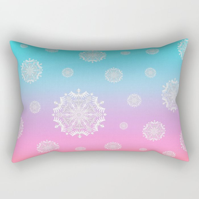 Crystal Dawn Rectangular Pillow