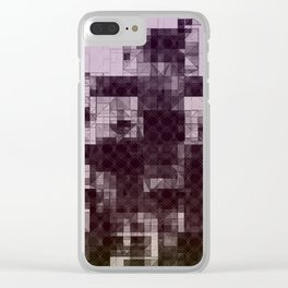 Pyramid Cities Clear iPhone Case